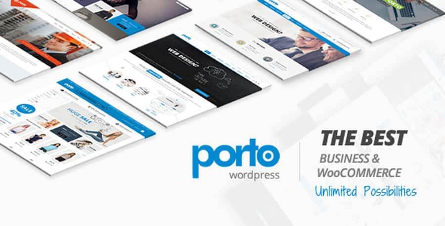 Chia sẻ Theme Porto  – Website bán hàng cực đẹp