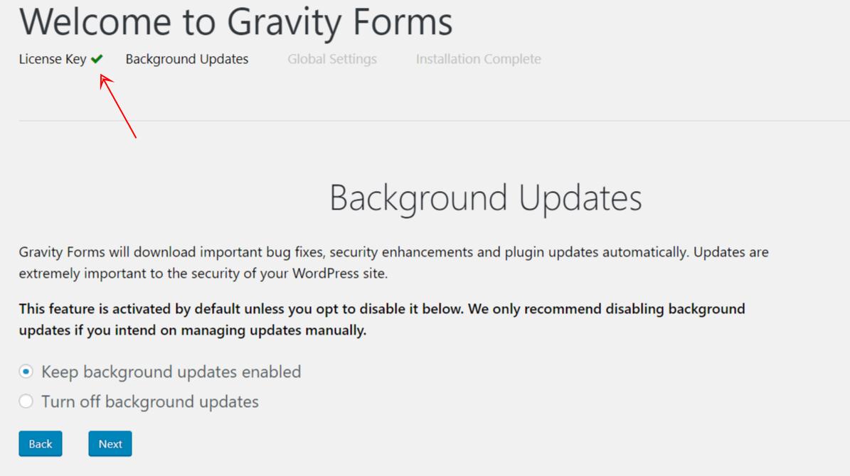Gravity Forms HƯỚNG DẪN KÍCH HOẠT 1