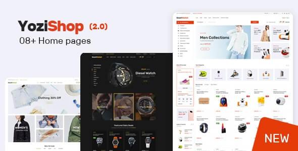 Share Theme Yozi – Theme bán hàng thương mại điện tử