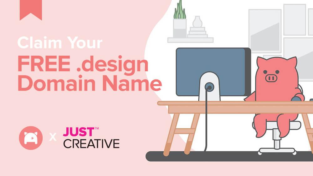 Hướng dẫn đăng ký domain .design miễn phí