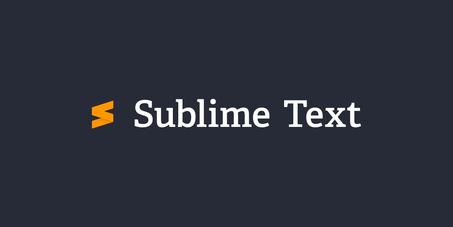 Sublime Text 3.2.1 Build 3207 – Editor lập trình chuyên nghiệp
